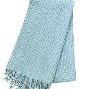 купить Пляжное полотенце Vende Pastemal вафельный Soft Life 100*180 Ментоловый_x000D_