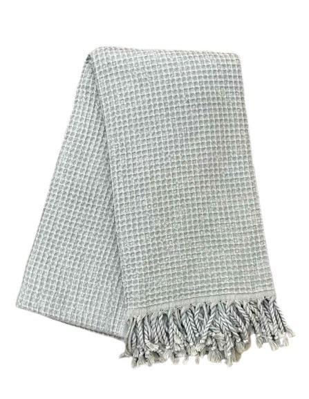 купить Пляжное полотенце Vende Pastemal вафельный Soft Life 100*180 Серый