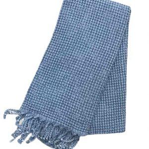 купить Пляжное полотенце Vende Pastemal вафельный Soft Life 100*180 джинс Синий