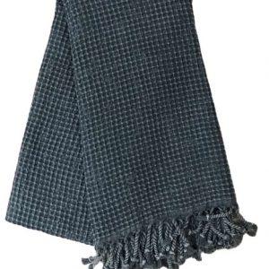 купить Пляжное полотенце Vende Pastemal вафельный Soft Life 100*180 джинс Черный