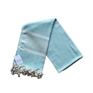 купить Пляжное полотенце Zugo Home Ilgin Lux 100*180 Бирюзовый