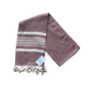 купить Пляжное полотенце Zugo Home Ilgin Lux 100*180 Бордовый