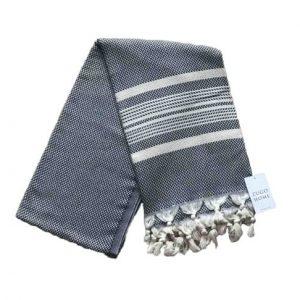 купить Пляжное полотенце Zugo Home Ilgin Lux 100*180 Черный