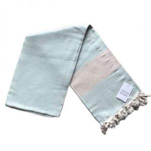 купить Пляжное полотенце Zugo Home Pestemal Elmas 100*180 Ментоловый_x000D_