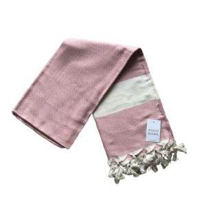 купить Пляжное полотенце Zugo Home Pestemal Elmas 100*180 Розовый