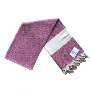 купить Пляжное полотенце Zugo Home Pestemal Elmas 100*180 pink