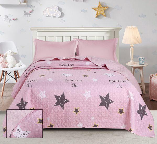 купить Покрывало стеганное ТМ Bliss С-0053 Розовый фото