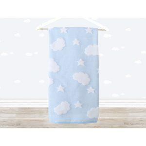 купить Полотенце детское Irya - Cloud голубой