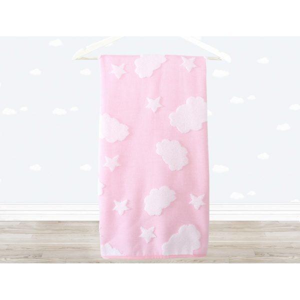 купить Полотенце детское Irya - Cloud розовый