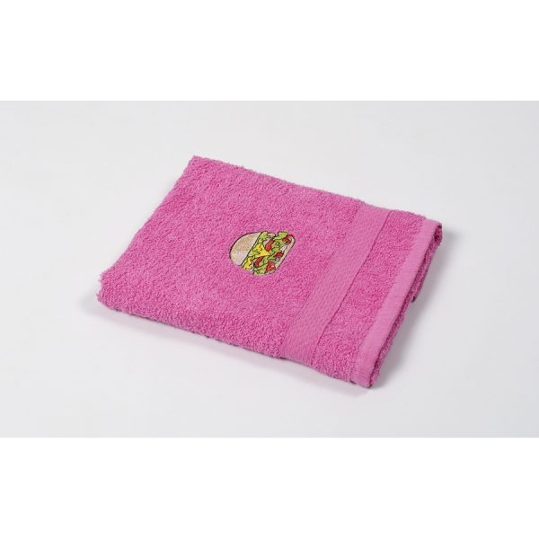 купить Полотенце кухонное Lotus Sun - Burger розовый