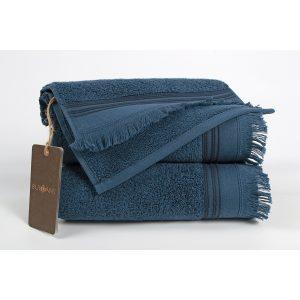 купить Полотенце махровое Buldans - Almeria indigo синий