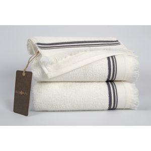 купить Полотенце махровое Buldans - Almeria off white