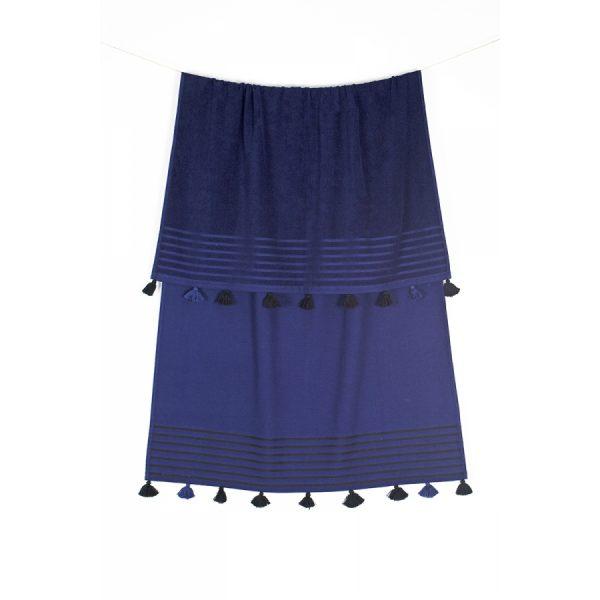 купить Полотенце махровое Buldans - Capri lacivert