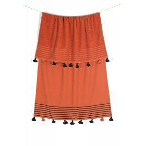 купить Полотенце махровое Buldans - Capri tobacco orange