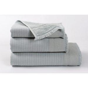 купить Полотенце махровое Buldans - Simba celik gri серый