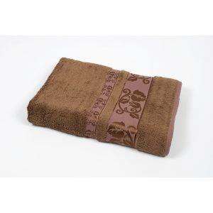 купить Полотенце махровое Cestepe - Delux Flover коричневый