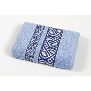 купить Полотенце махровое Cestepe - Vakko cotton голубой
