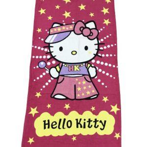 купить Полотенце пляжное Vende велюр Hello Kitty 75*150
