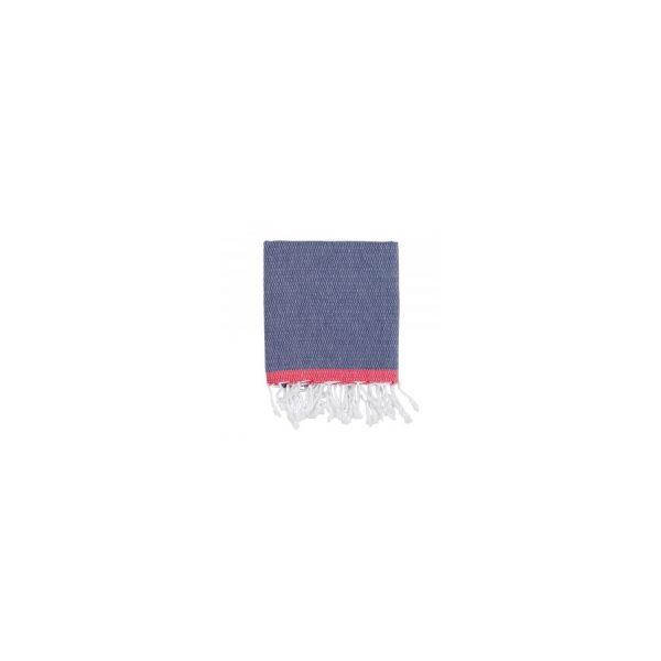 купить Полотенце Barine Pestemal - Basak Navy-Red
