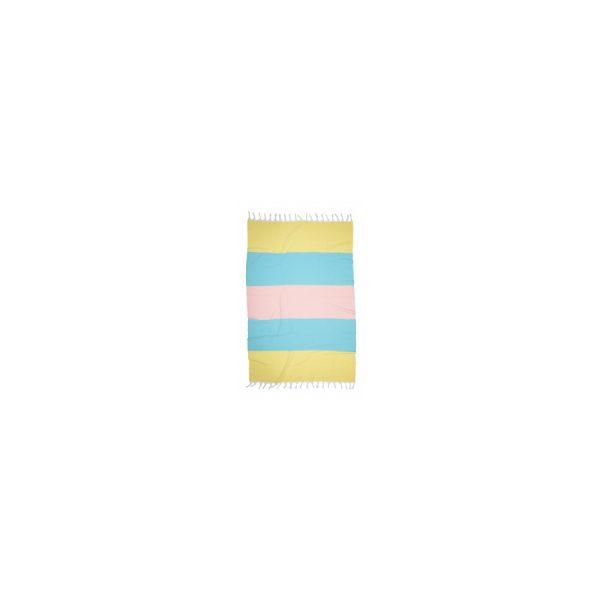 купить Полотенце Barine Pestemal - Block Sunshine-mint-somon