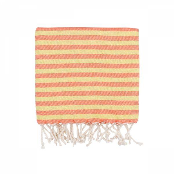 купить Полотенце Barine Pestemal - Herringbone Papaya Sunset