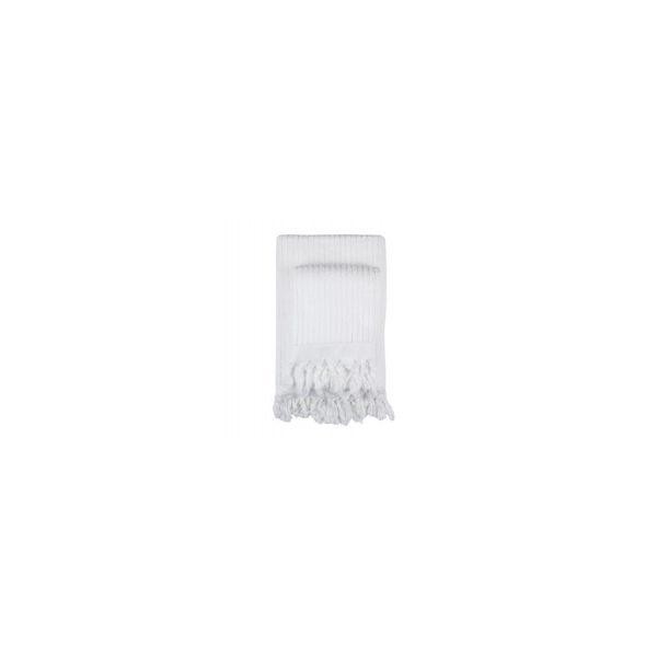 купить Полотенце Barine - Rib beyaz белый