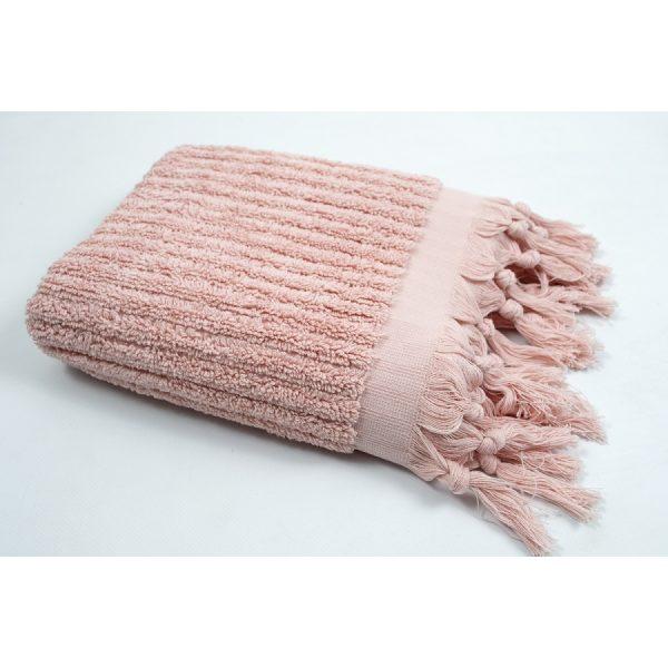 купить Полотенце Barine - Rib pale blush розовый
