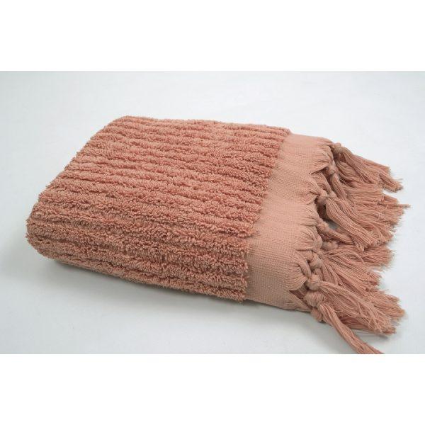 купить Полотенце Barine - Rib shrimp розовый