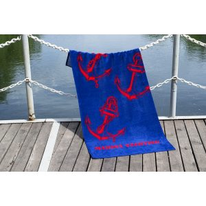 купить Полотенце Lotus пляжное - Marina Yachting велюр