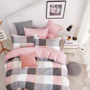купить Постельное белье Bella Villa Сатин B-0251 Розовый фото