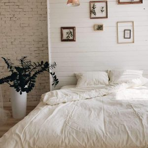 купить Постельное белье Bella Villa вареный хлопок W-0005 Eu Кремовый фото