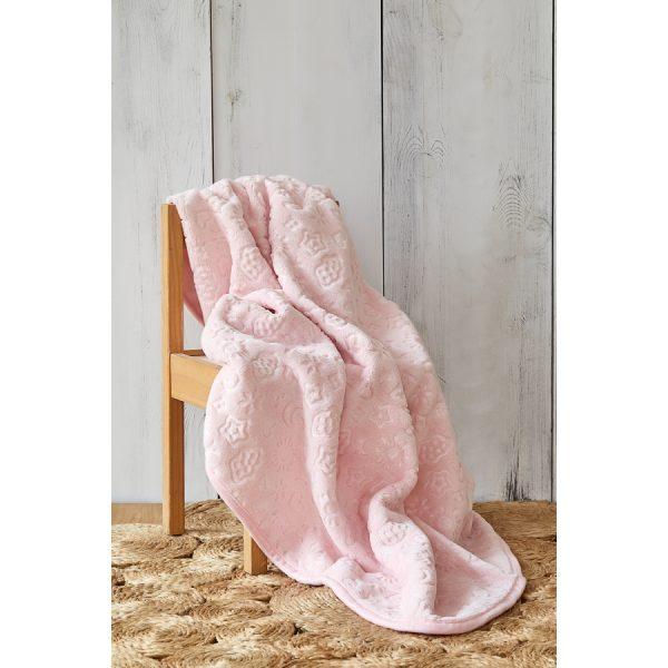 купить Детский плед в кроватку Karaca Home - Candy Pudra 2020-2 100*120