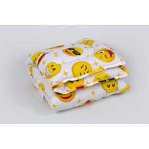 купить Детское одеяло Lotus - Colour Fiber 110*140 Emoji желтый