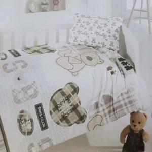 купить Детское постельное белье Brielle 131V1 младенцам Бежевый фото