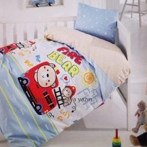 купить Детское постельное белье Brielle 132V1 младенцам Голубой фото