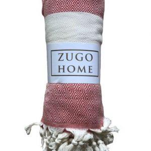 купить Покрывало пештемаль Zugo Home Cizgili 200*240 см Красный_x000D_