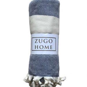 купить Покрывало пештемаль Zugo Home Cizgili 200*240 см Синий