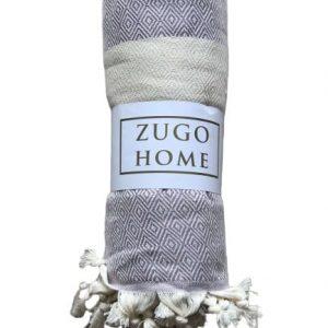 купить Покрывало пештемаль Zugo Home Cizgili 200*240 см Фиолетовый