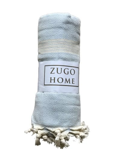 купить Покрывало пештемаль Zugo Home Elmas 200*240 см Голубой