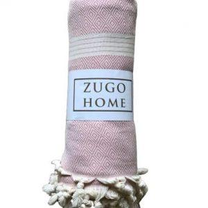 купить Покрывало пештемаль Zugo Home Elmas 200*240 см Розовый