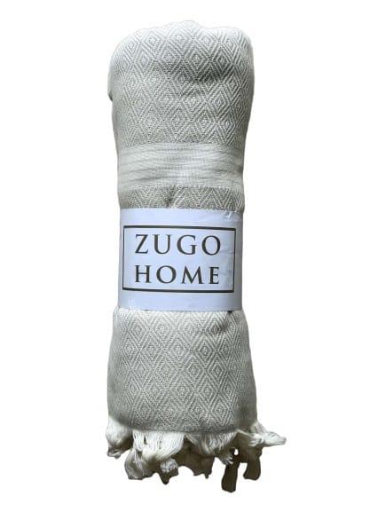 купить Покрывало пештемаль Zugo Home Elmas 200*240 см Серый