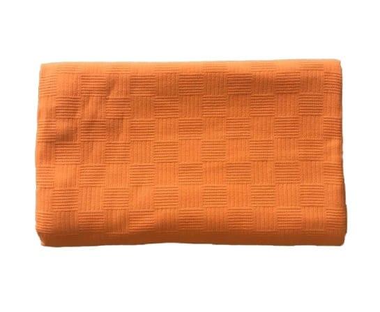 купить Покрывало-пике Zugo Home вафельное Оранжевый