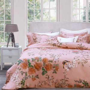 купить Постельное белье Valeron USC Narissa V01 Somon Розовый фото