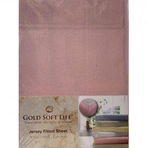 купить Простынь трикотажная на резинке Gold Soft Life Terry Fitted Sheet Роз