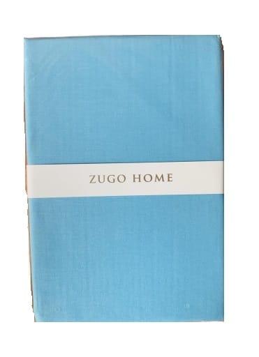 купить Простынь Zugo Home ранфорс Basic Голубой