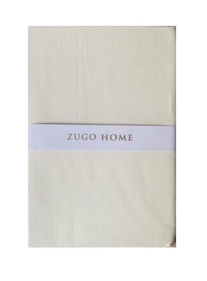 купить Простынь Zugo Home ранфорс Basic Кремовый