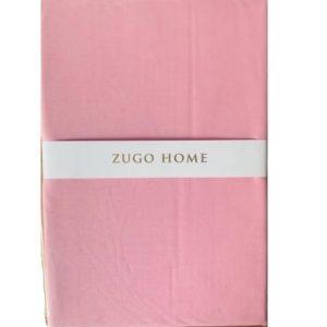 купить Простынь Zugo Home ранфорс Basic Розовый