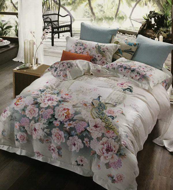 купить Постельное белье Тенсел Люкс 09772 Розовый фото