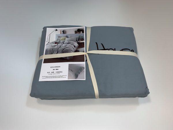 купить Постельное белье Французский лен 648656 Серый фото
