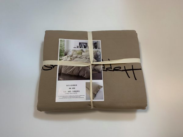 купить Постельное белье Французский лен 649606 Бежевый фото